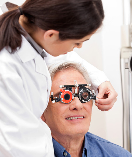 Low vision and specialised visual examinations